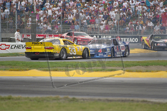 Scott Sharp and Ron Fellows - Trans-Am at PIR IV