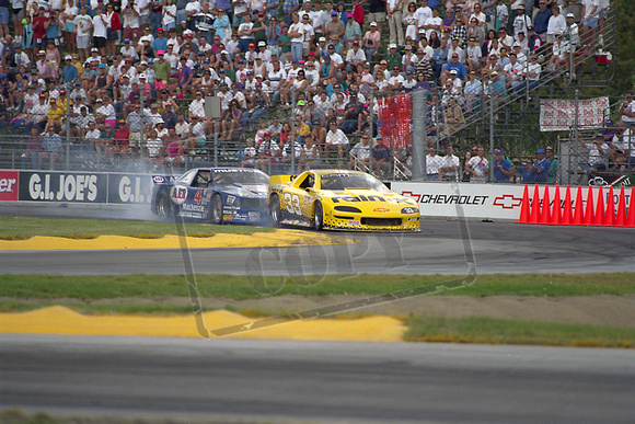 Scott Sharp and Ron Fellows - Trans-Am at PIR